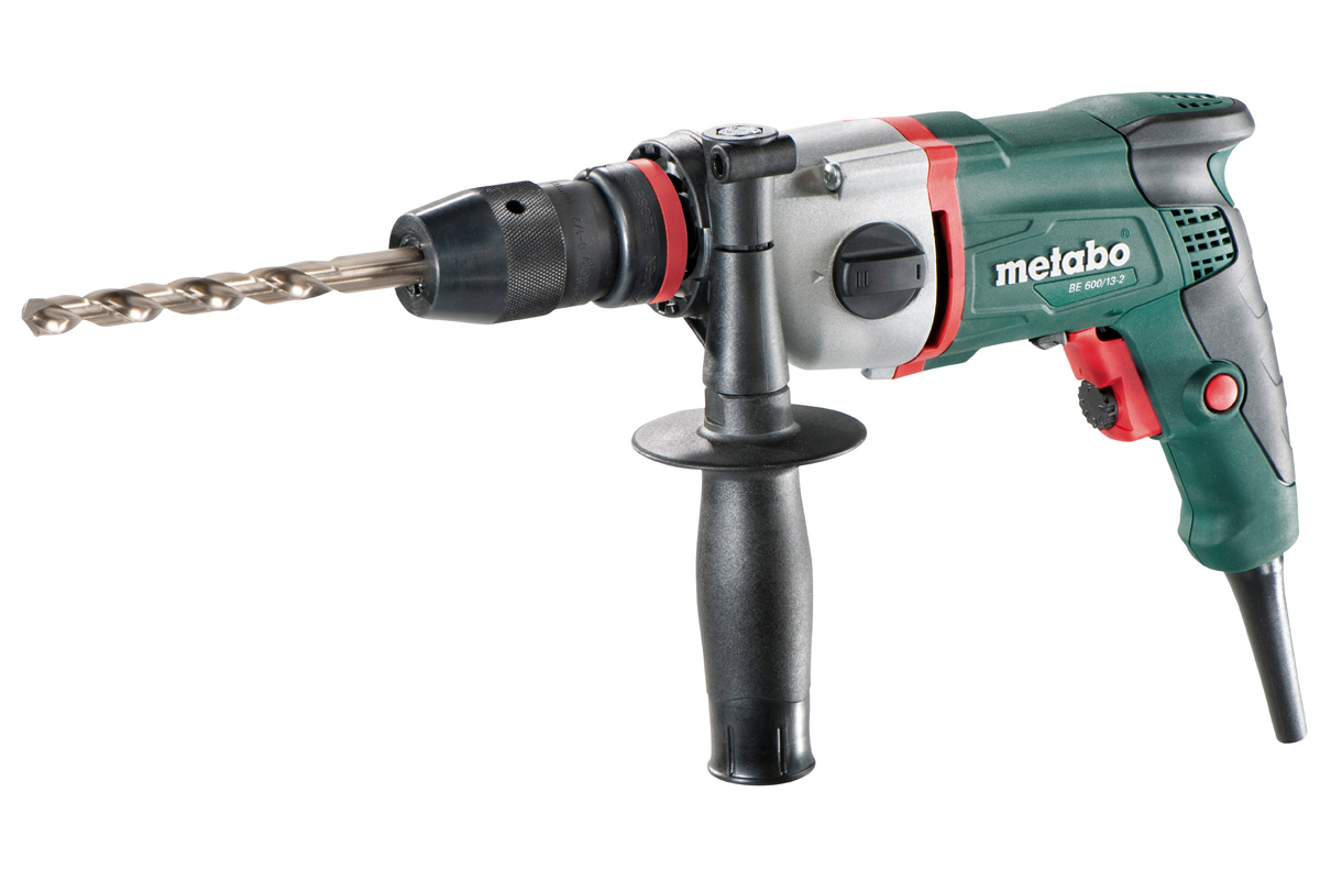 Metabo BE 600/13-2 Boormachine in Metaloc - 600W