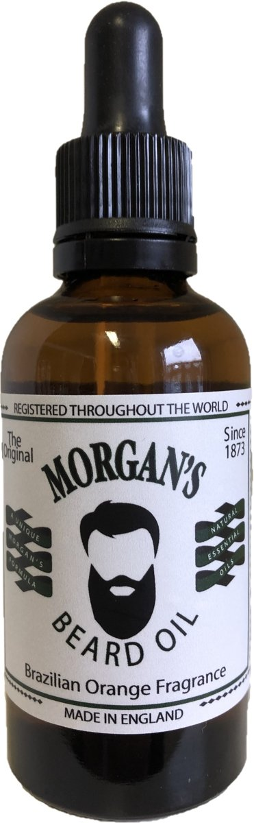 Morgan's Brazilian Orange Beard Oil