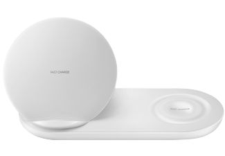 SAMSUNG Draadloze Duo Oplader Wit