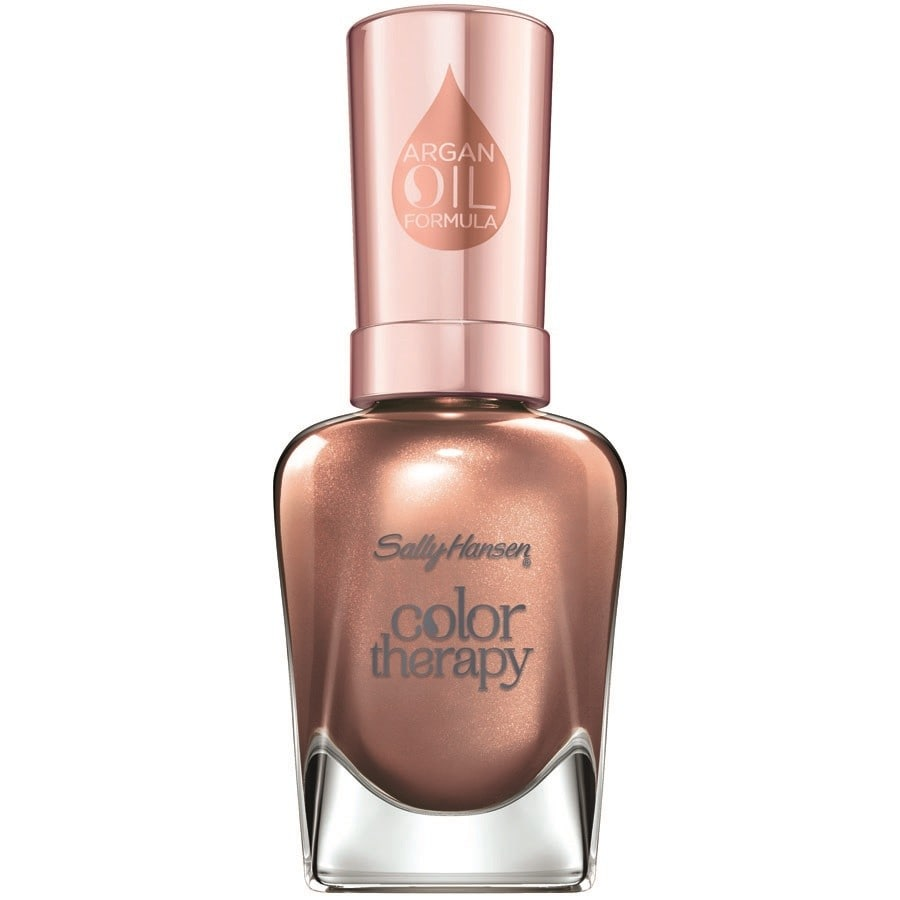 Sally Hansen 194 Burnished Bronze Color Therapy Nagellak 14.7 ml
