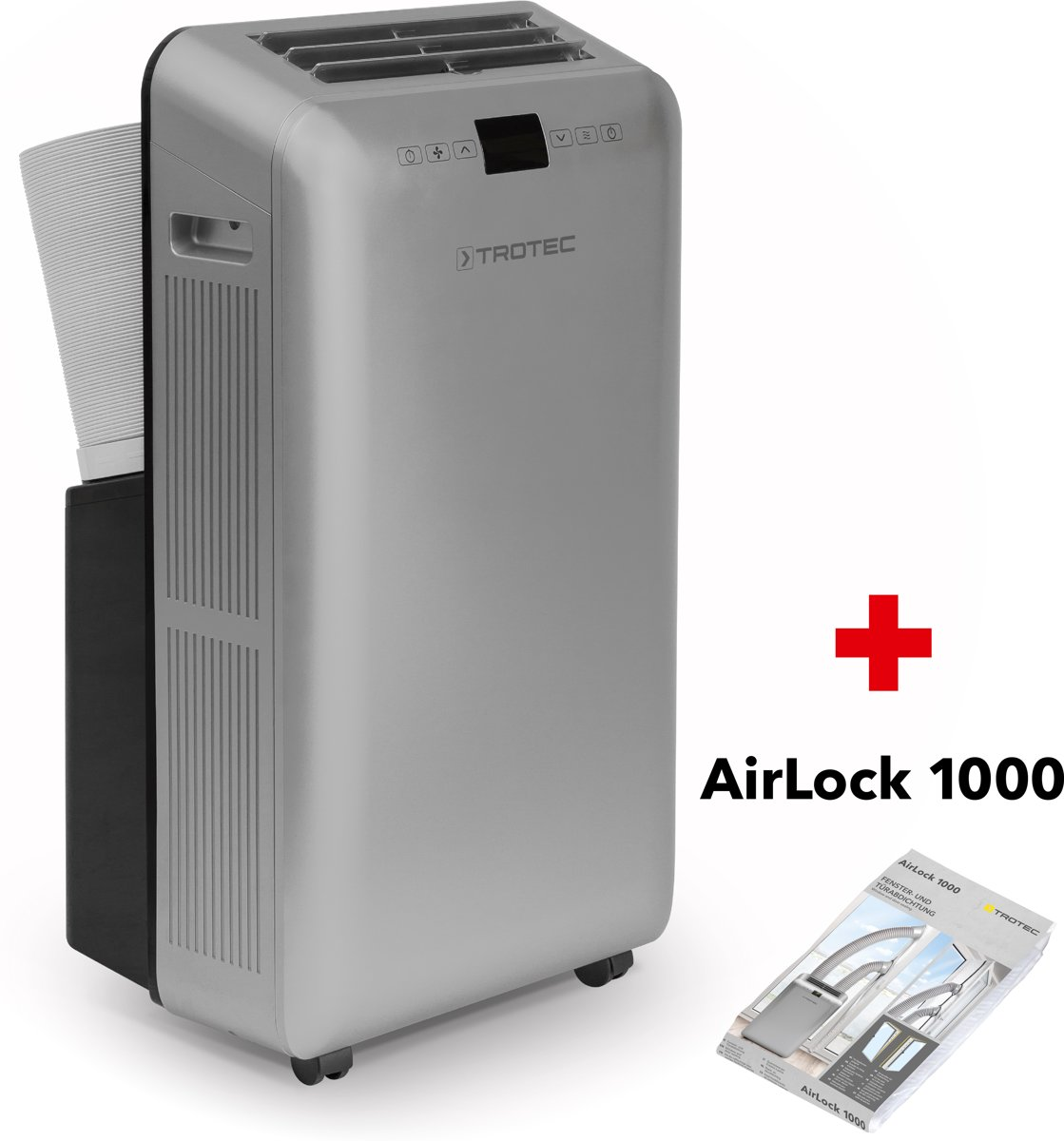 Trotec lokale airconditioner PAC 3550 PRO & airlock 1000