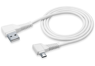 CELLULAR-LINE USB-kabel Micro-USB Square 1,2 Meter Wit