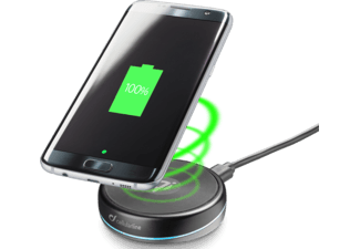 CELLULAR-LINE Wireless Charger Fast Charge Twist Zwart