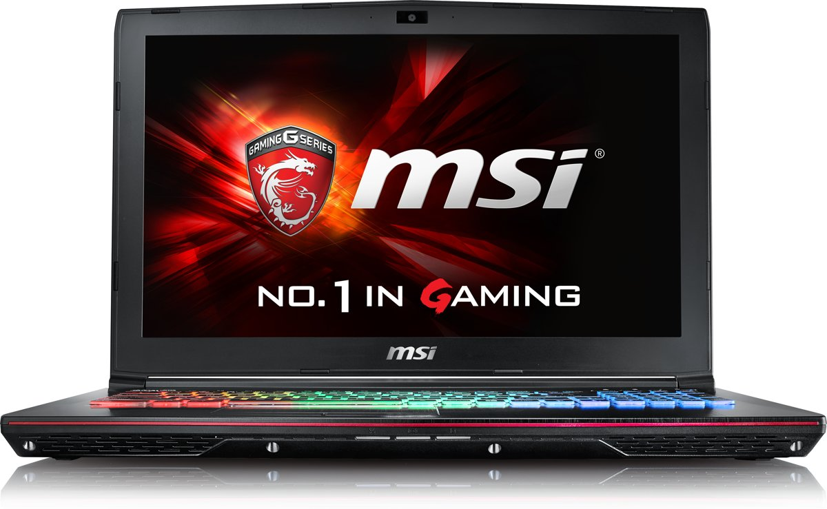 MSI GE62VR 7RF-298NL - Gaming Laptop - 15.6 Inch