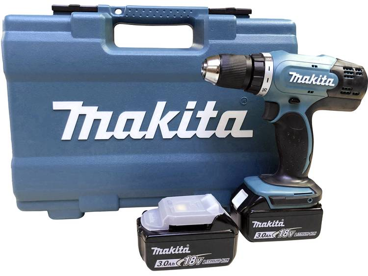 Makita Accuschroefboormachine 18 V 3.0 Ah