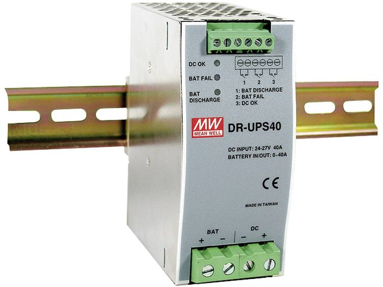 Mean Well DR-UPS40 DIN-rail netvoeding 24 V/DC 2 A