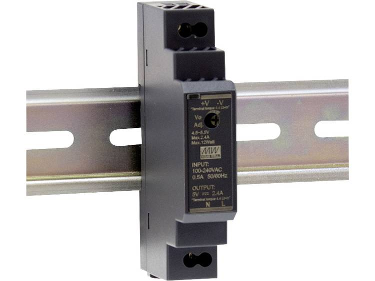 Mean Well HDR-15-15 DIN-rail netvoeding 15 V/DC 1 A 15 W 1 x