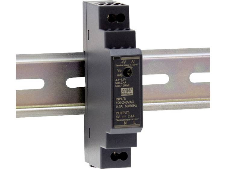 Mean Well HDR-15-24 DIN-rail netvoeding 24 V/DC 0.63 A 15.2 W 1 x