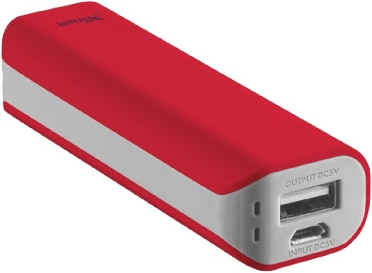 Primo PowerBank 2.200 Portable Charger - red