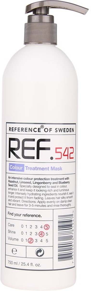 REF. Reference of Sweden Colour Treatment Mask 750ml 542