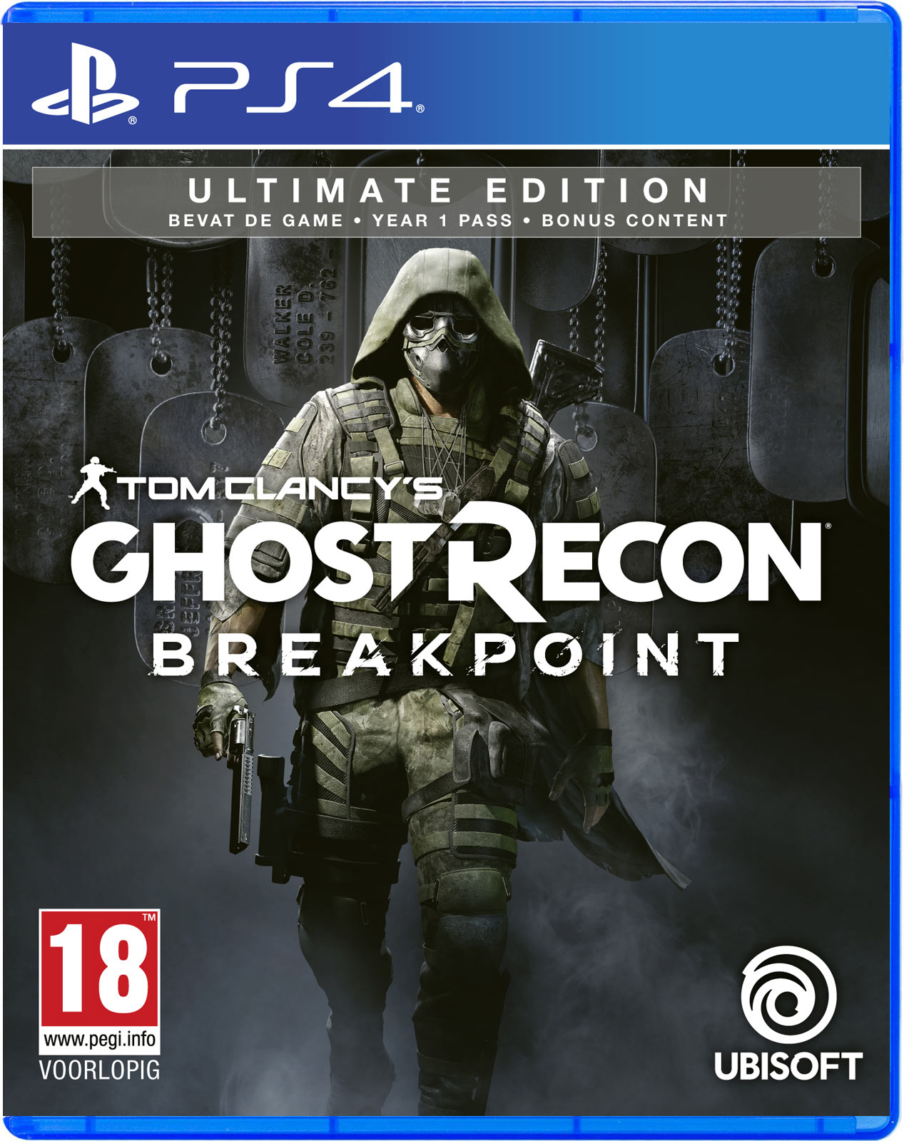 Tom Clancys Ghost Recon Breakpoint Ultimate edition PS4