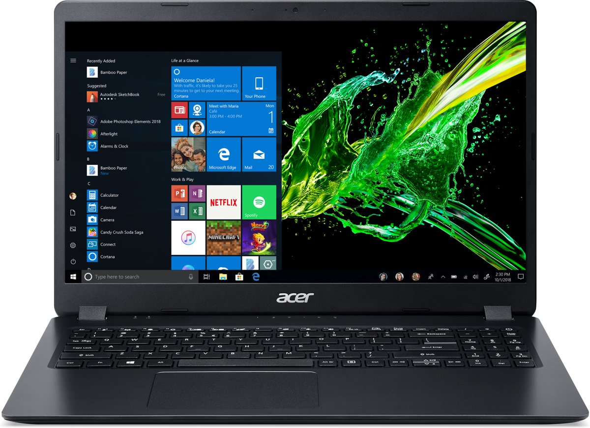 Acer Aspire 3 A315-54K-304F - Laptop - 15.6 Inch