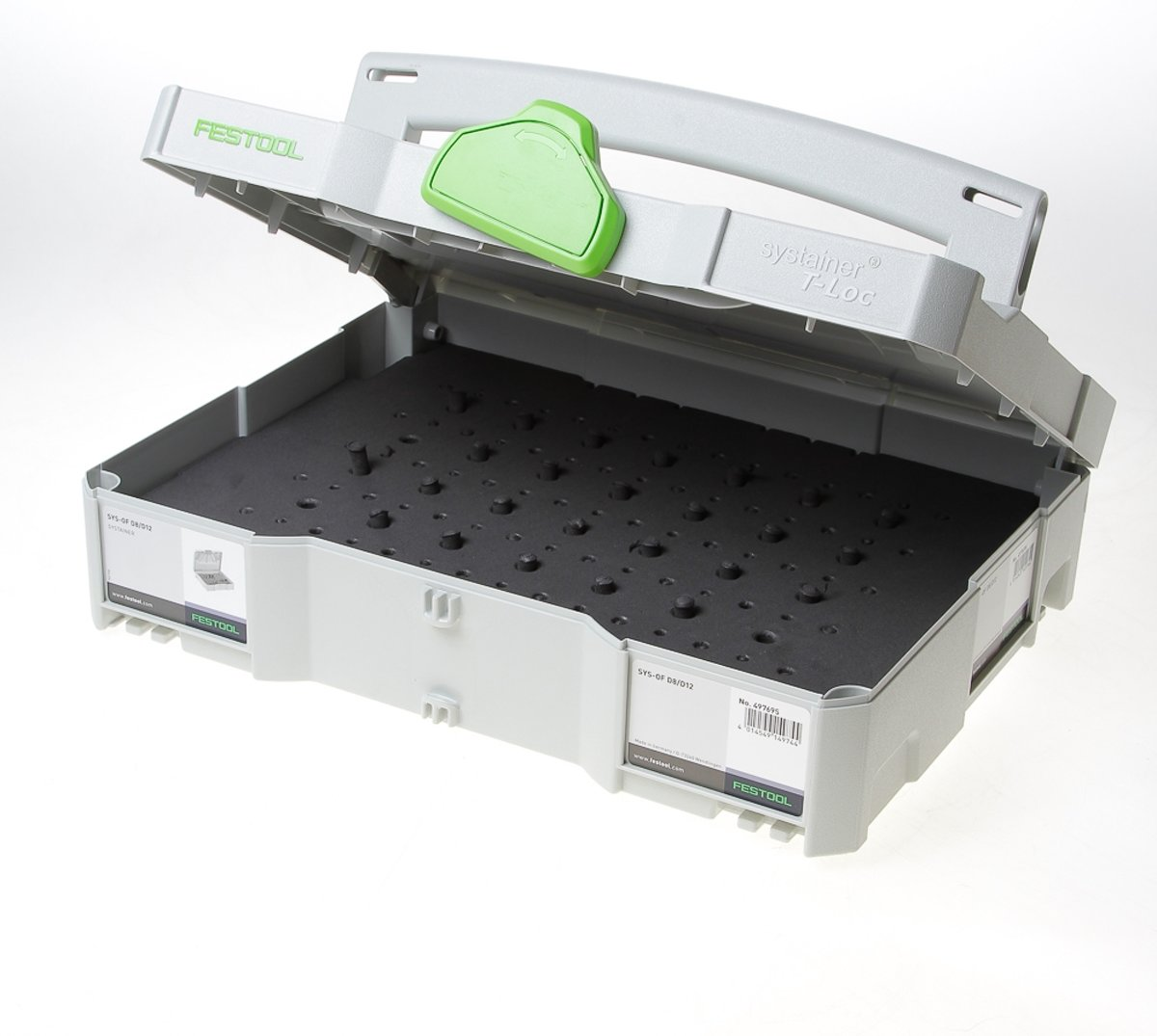 Festool Systainer t-loc sys tl-of d8/d12