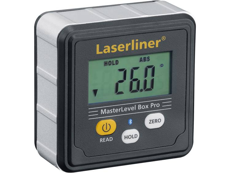 Laserliner MasterLevel Box Pro (BLE) 081.262A Digitale waterpas 28 mm 360 °