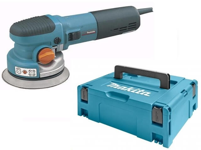 Makita BO6040J excenter schuurmachine in Mbox - 150mm