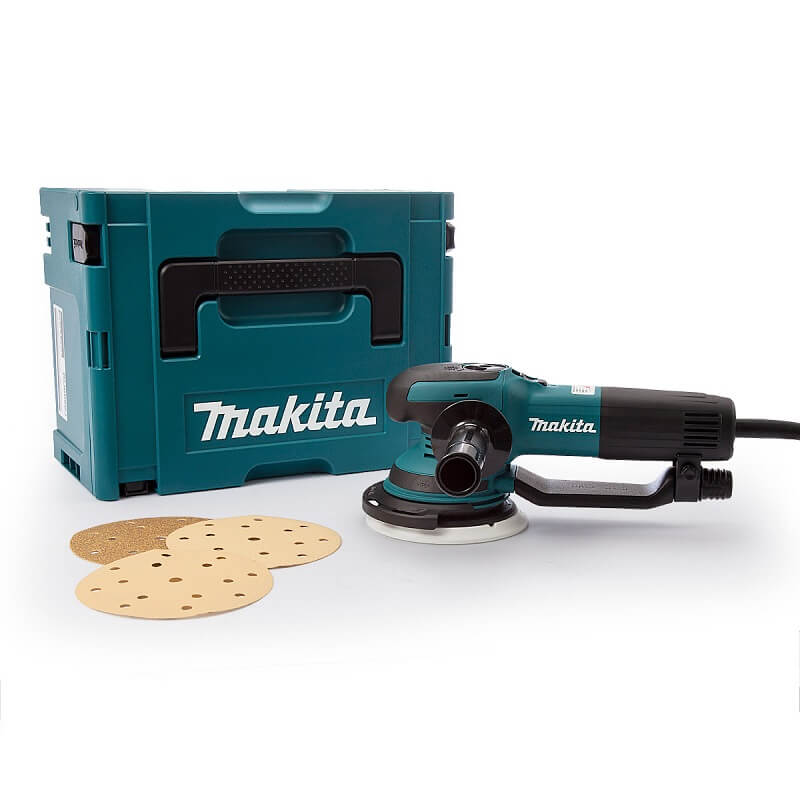 Makita BO6050J excenter schuurmachine 150mm - 750W - in Mbox