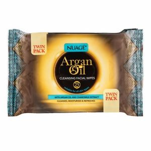 Nuage Argan Oil Cleansing Facial Wipes