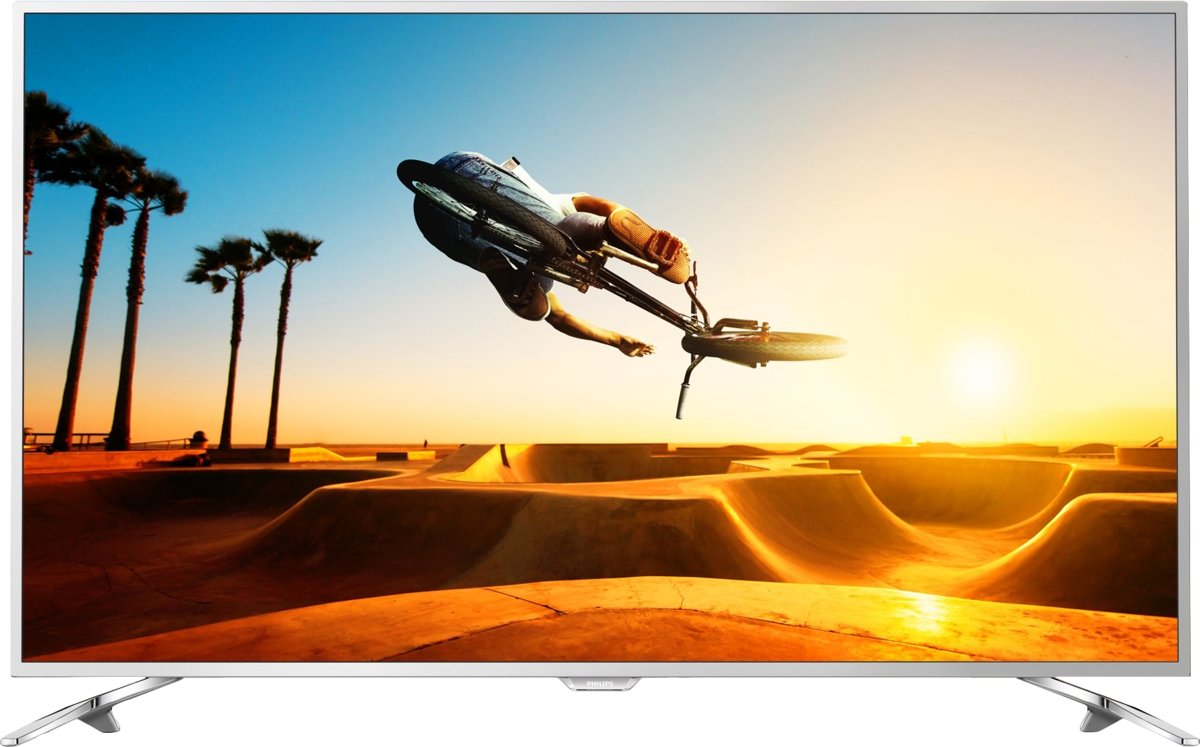 Philips 7000 series Ultraslanke 4K-TV powered by Android TV 55PUS7272/12