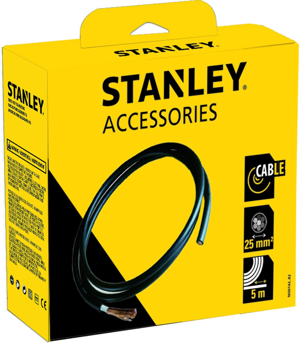 STANLEY Laskabels - 5m x 25mm²