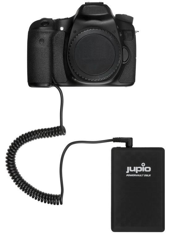 Jupio PowerVault DSLR accupack voor Canon LP-E17