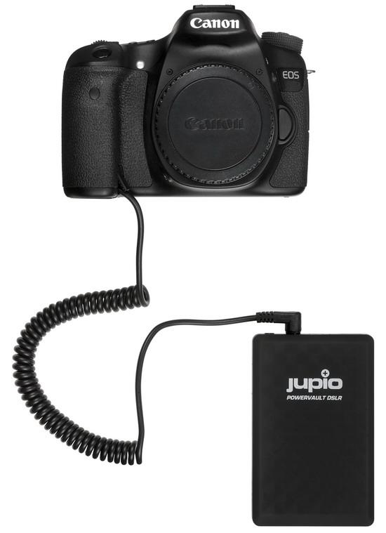 Jupio PowerVault DSLR accupack voor Canon LP-E8