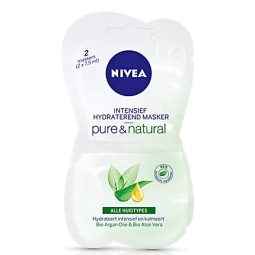 Pure&natural intensief hydraterende masker