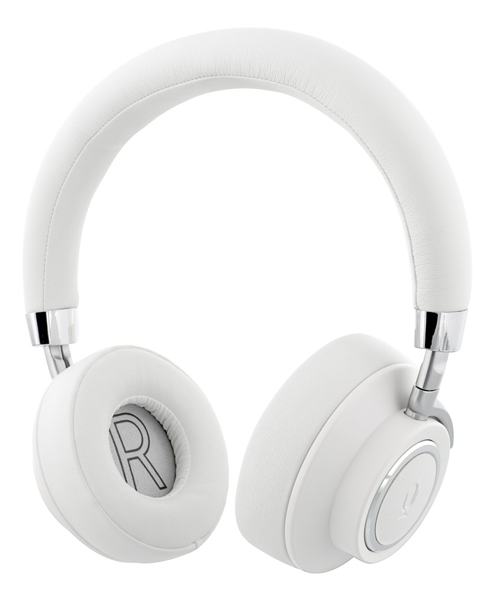 STREETZ HL-503 Voice Assistant Bluetooth Headset - Microfoon & Control button - 3,5mm audio-ingang - Wit