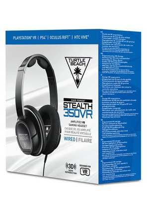 Turtle Beach Gaming Headset - Earforce Stealth 350VR (PS4 + Mobile)