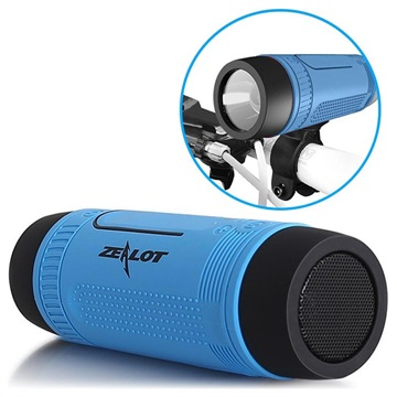 Zealot S1 6-in-1 Multifunctionele Bluetooth Speaker - Blauw