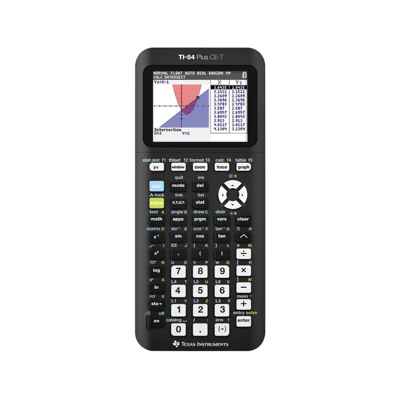Rekenmachine Texas Instruments TI-84 Plus CE-T teacher pack