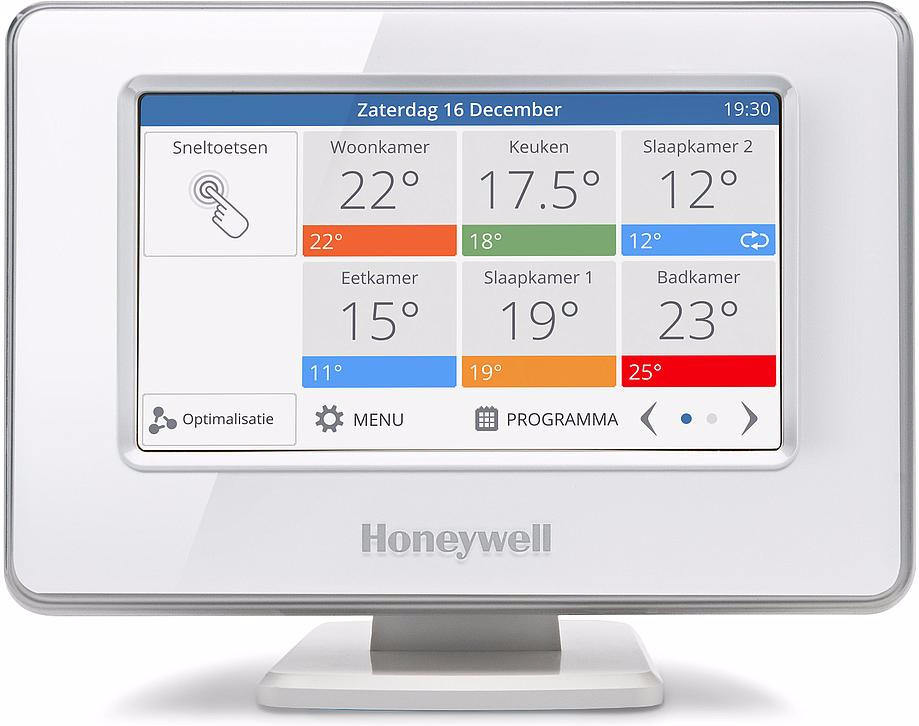 Honeywell evohome slimme thermostaat met WiFi, wit