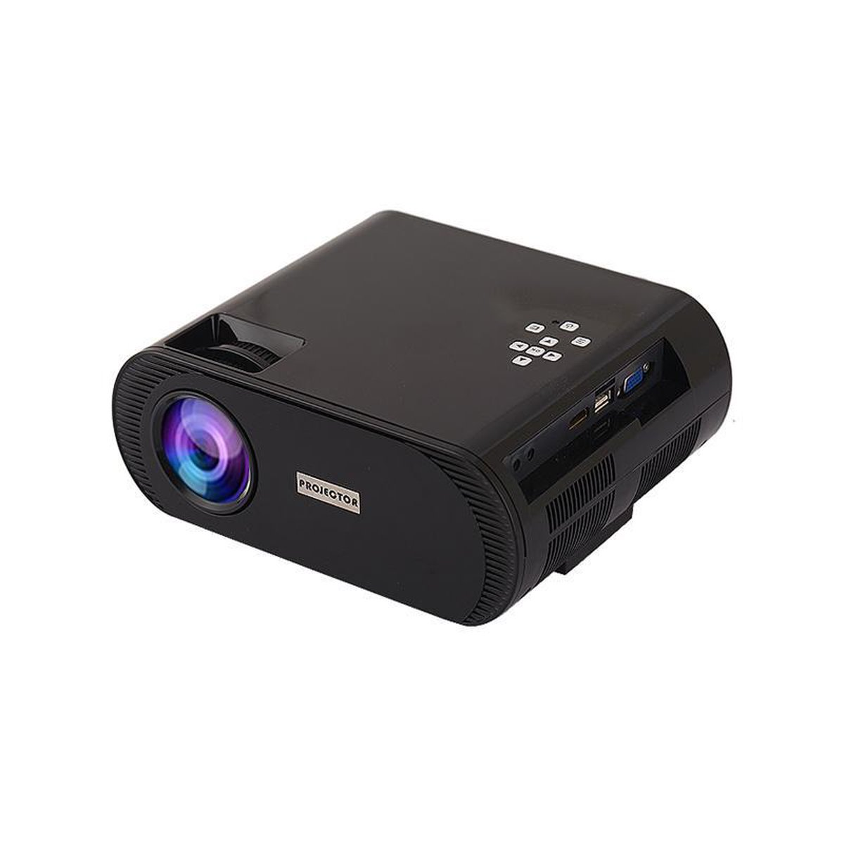 MINI BEAMER - BEAMER - BEAMER PROJECTOR - INCLUSIEF WIFI DONGLE - INCLUSIEF HDMI KABEL - INCLUSIEF OPBERGHOES