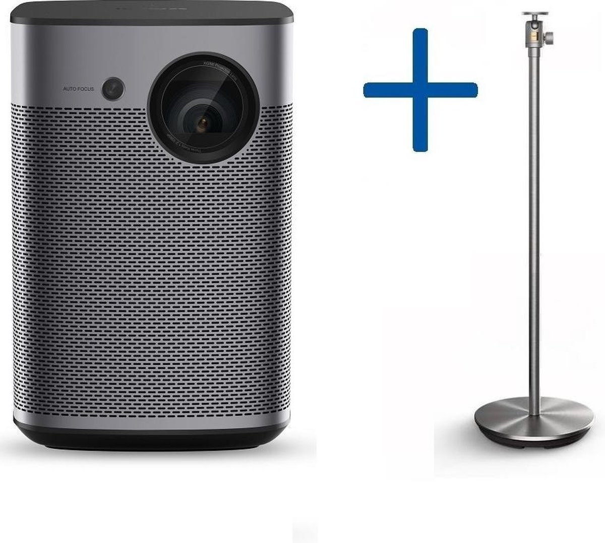 XGIMI Halo beamer + Floor Stand beamerstatief | Portable smartbeamer met Android TV & Harman/Kardon speaker - mini beamer - mini smart beamer