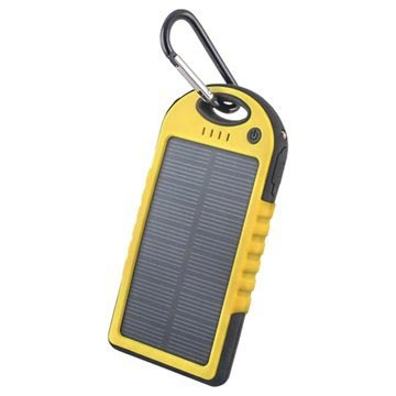 Forever STB-200 Solar Power Bank - 5000mAh - Geel