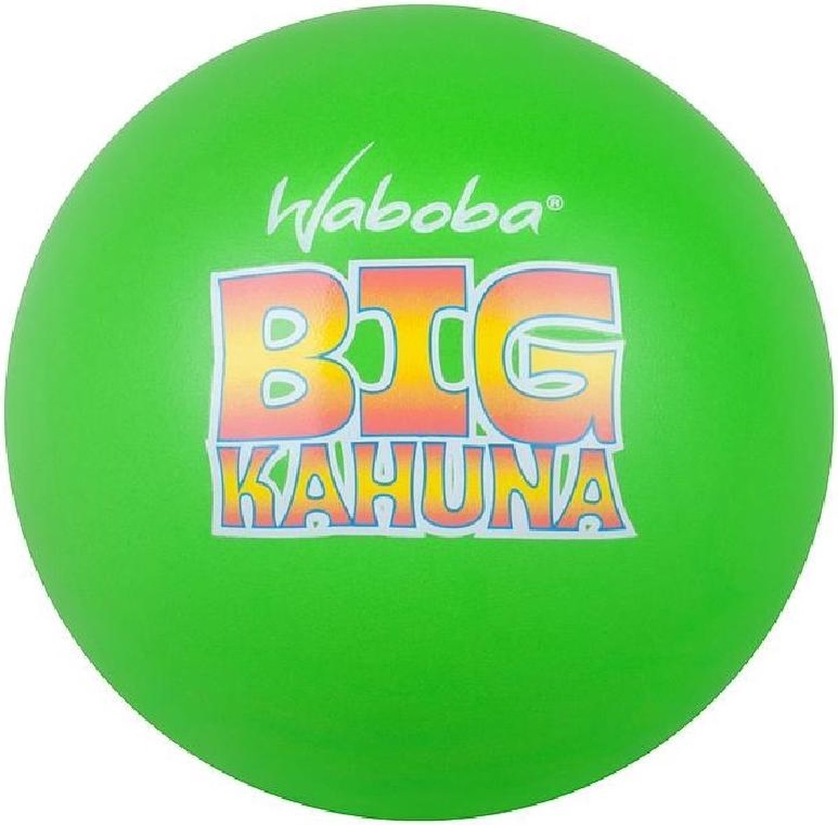 Waboba Splashbal Big Kahuna 9 Cm Foam Groen