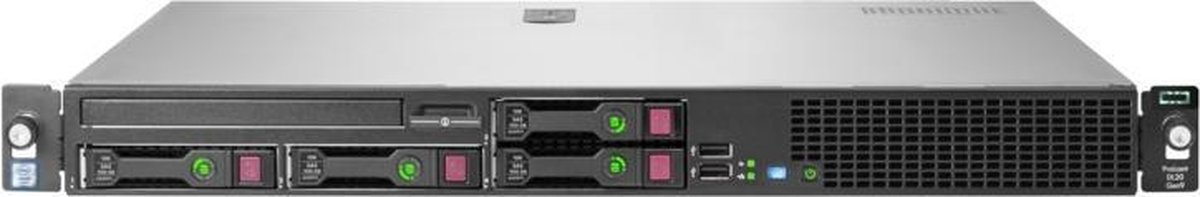 Hewlett Packard Enterprise ProLiant DL20 Gen9 server 3,5 GHz Intel® Xeon® E3 v6 E3-1230V6 Rack (1U) 900 W