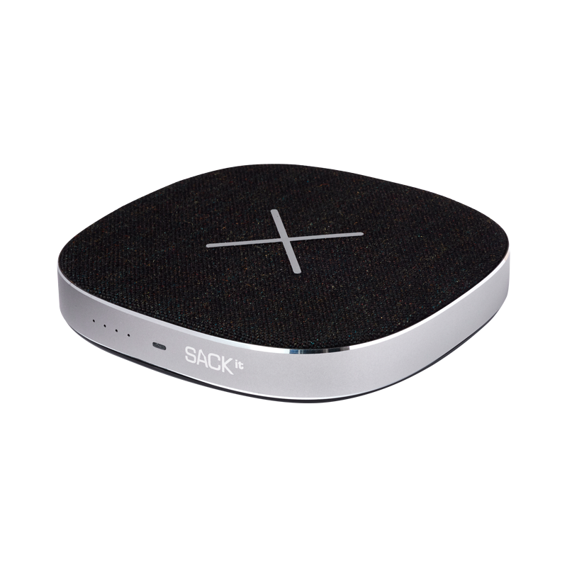SACKit CHARGEit - Power Bank&Wireless Charger ( Black )