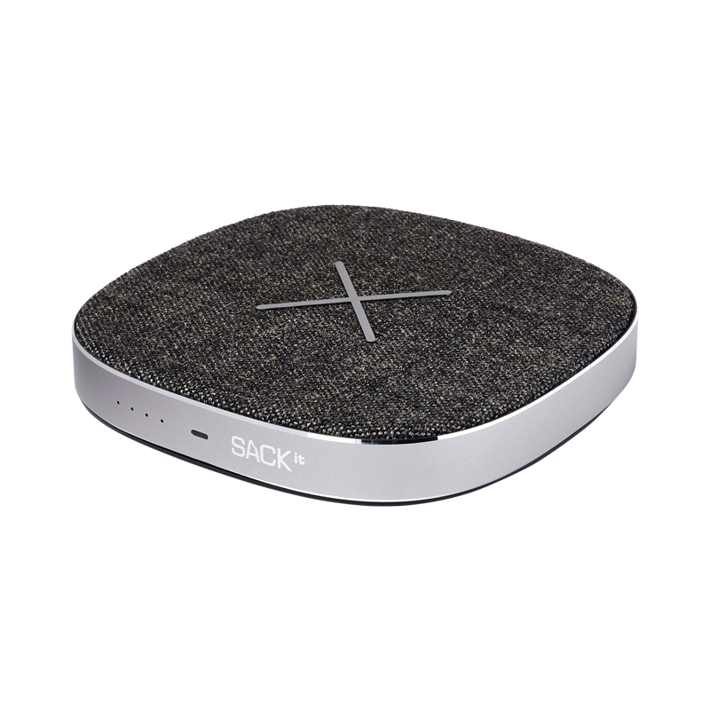 SACKit CHARGEit - Power Bank&Wireless Charger ( Grey )