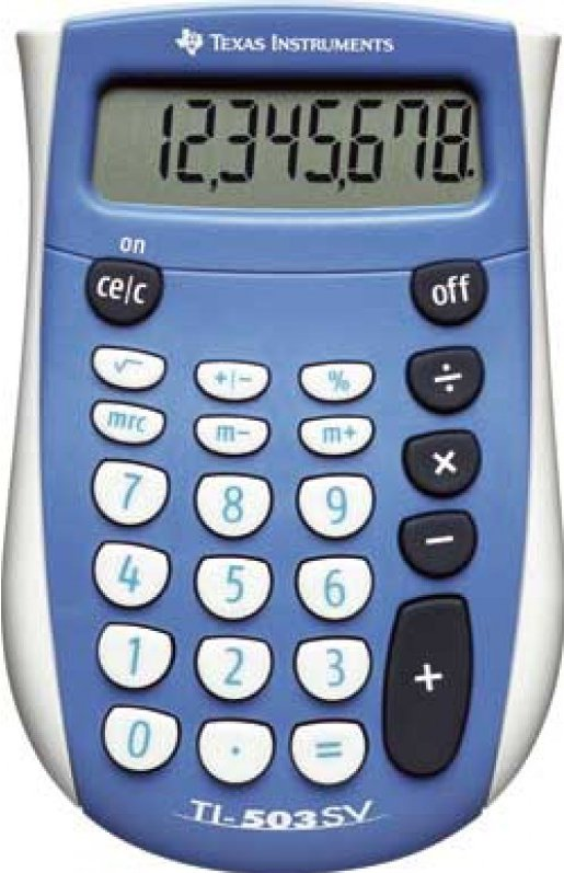 Texas Instruments TI-503 SV rekenmachine