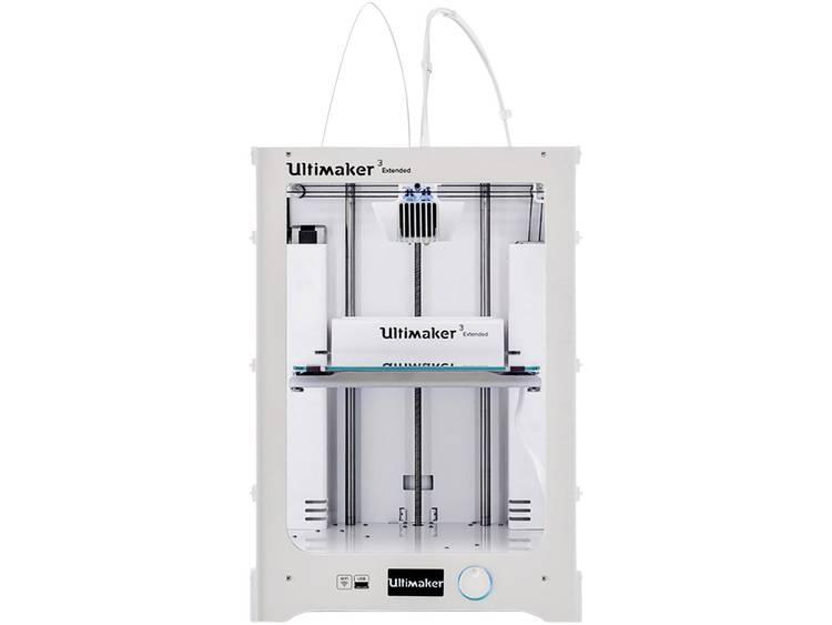 Ultimaker 3 Extended 3D-printer Dual nozzle-systeem (Dual Extruder)