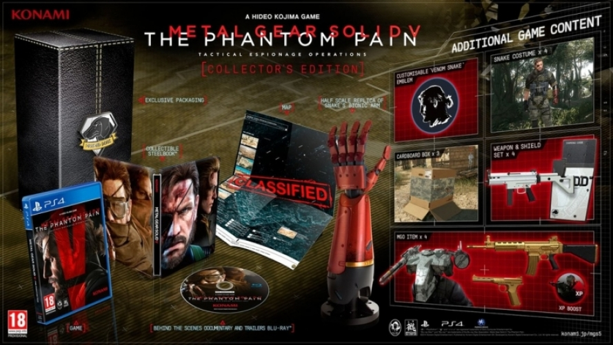 Metal Gear Solid 5 the Phantom Pain (Collector's Edition)