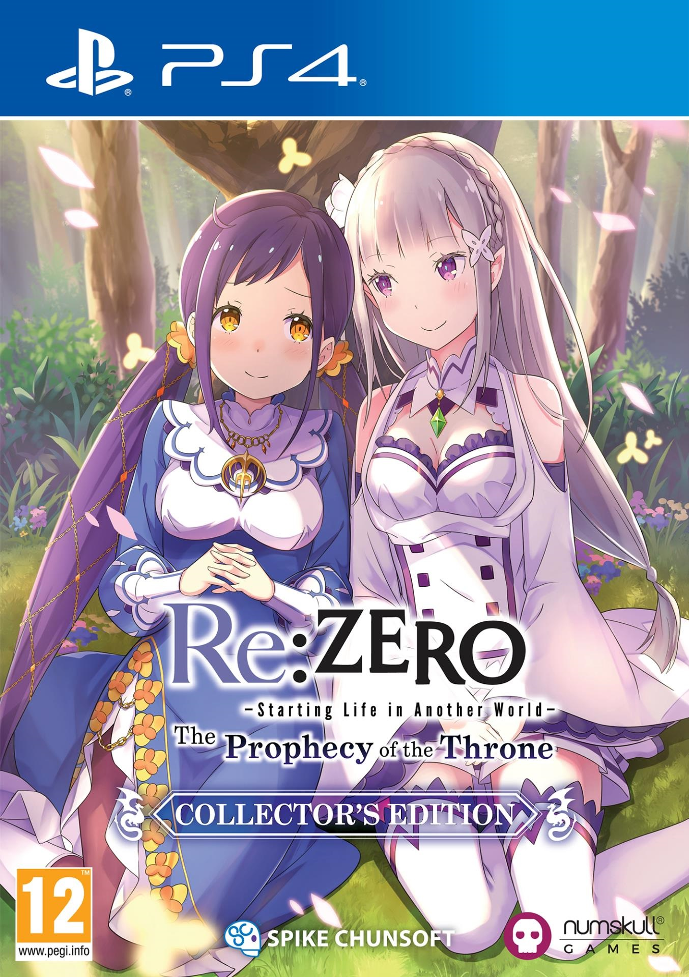 Re:ZERO Starting Life in Another World: The Prophecy of the Throne Collector's Edition