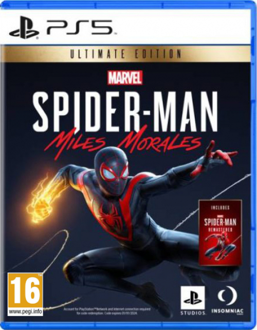 Spider-Man Miles Morales Ultimate Edition