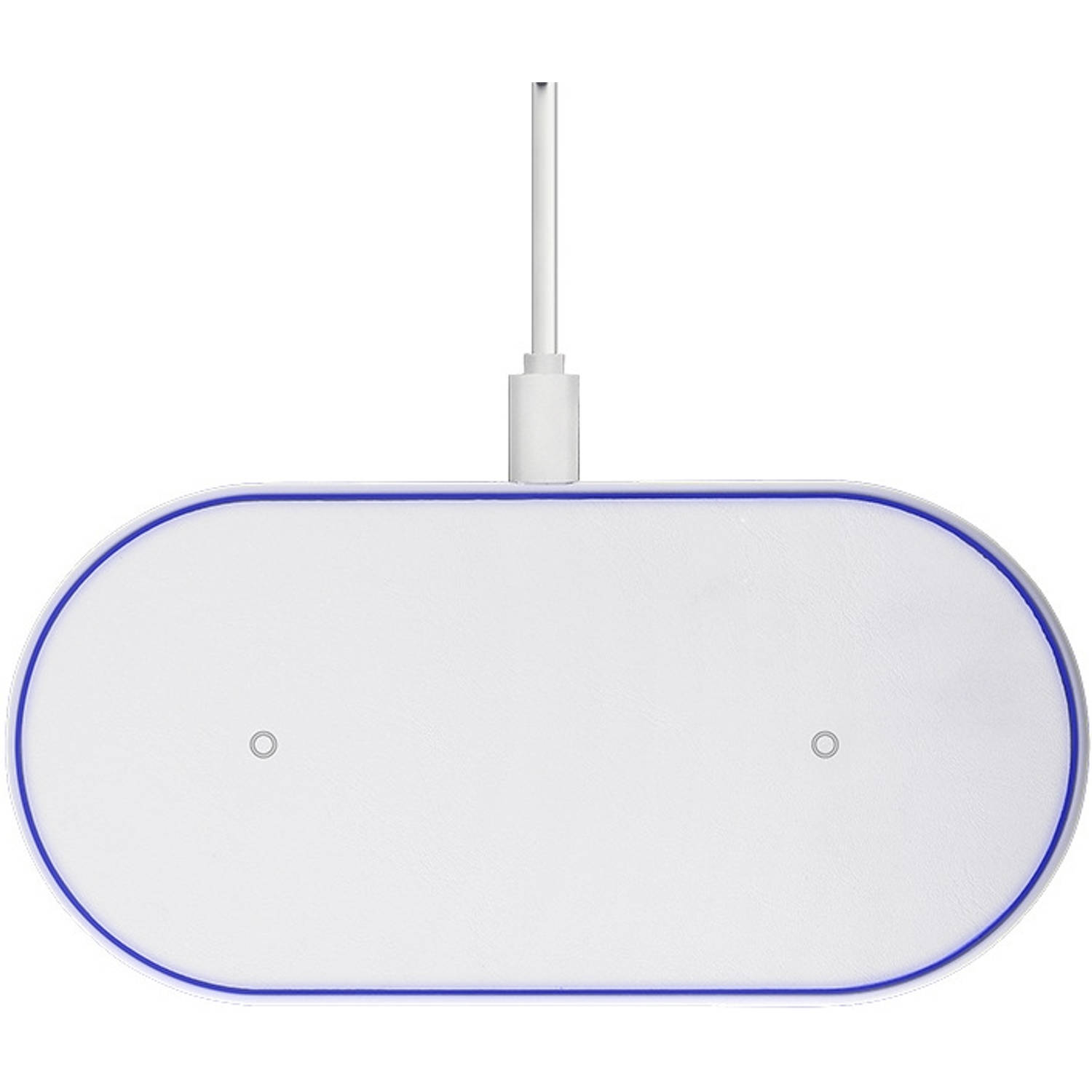 Cyoo Duo Iphone Wireless Fast Charger - 10w - Wit