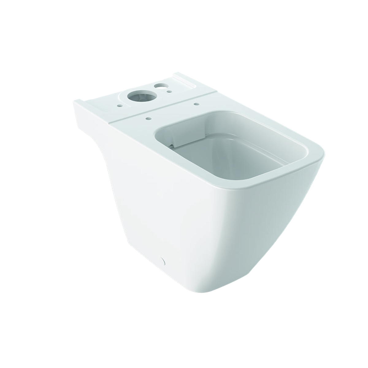 Geberit iCon Square duobloktoilet rimfree KeraTect, wit