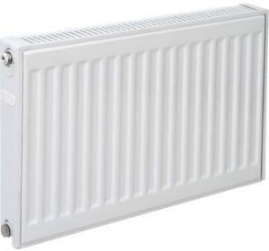 Plieger paneelradiator compact type 11 400x600 mm 387 W, wit