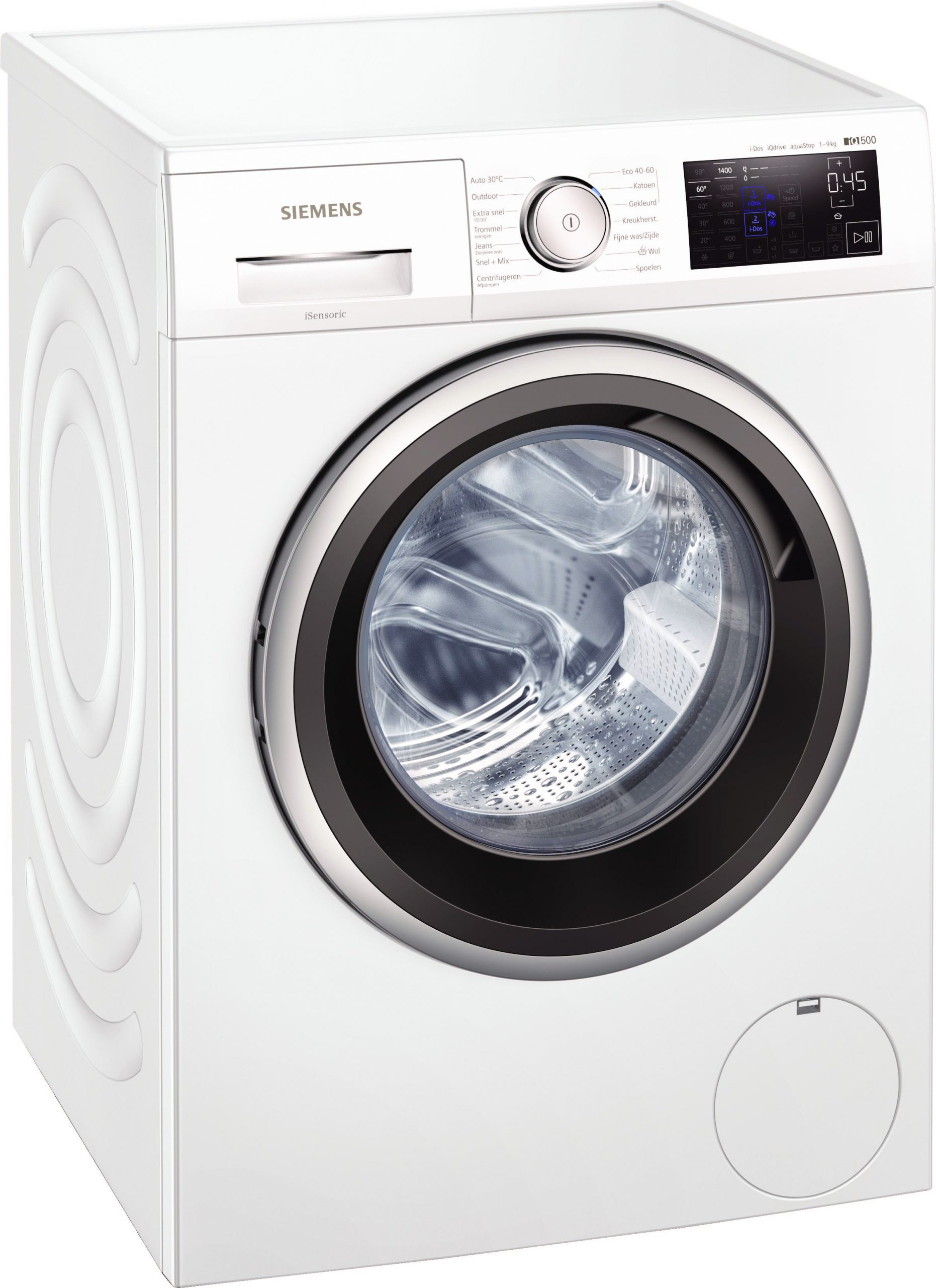 Siemens WM14UP75NL wasmachine