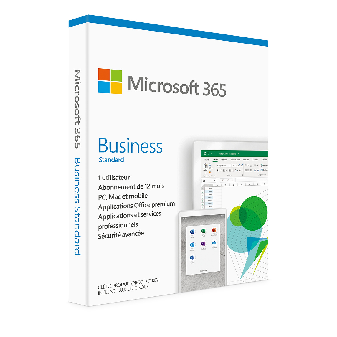 Microsoft 365 Business Standard Retail French KLQ-00464
