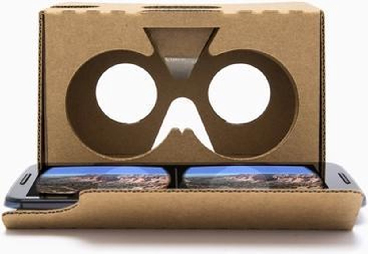 Google Cardboard V2 Virtual Reality Bril