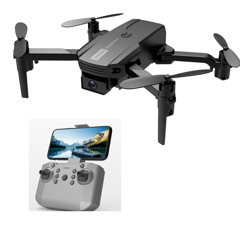 2.4G Mini Drone WIFI FPV Met 4K Dual HD Camera 3D Flips Headless Mode Luchtdruk Hoogte Hold Opvouwbare RC Drone Quadcopt